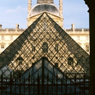 Louvre, Pyramid, Louvre.