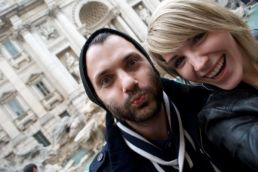Olivier, full of surprises. (And yes, he threw a coin into the Trevi Fountain last time he was here, and it worked!)