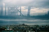 Paris in the drear.