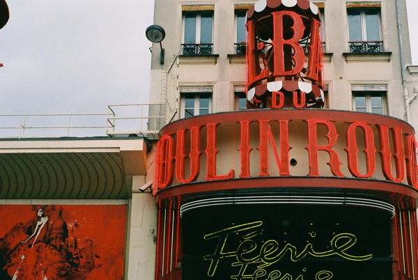Moulin Rouge, Paris, France.
