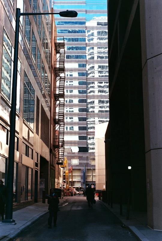 Small street.