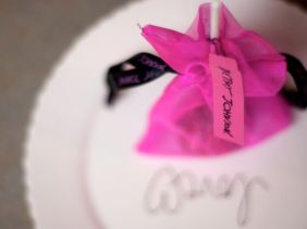 The Betsey Johnson cake pop.