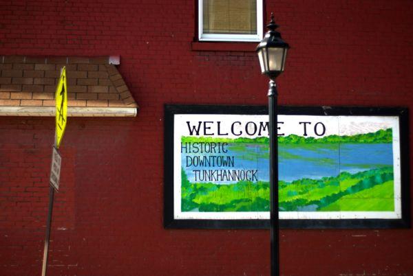 Welcome to Tunkhannock, PA.