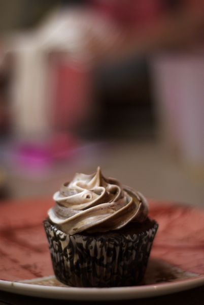 Chocolate cupcakes for the kiddos under 21.