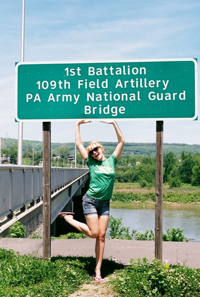 1st Battalion 109th Field Artillery PA Army National Guard Bridge - aka, the Carey Ave. Bridge.
