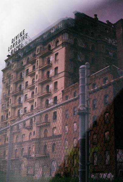 The Divine Loraine hotel, Philadelphia.