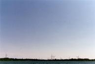Wolfe Island turbines.