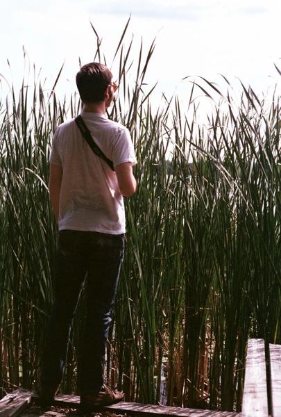 Kyle, as tall as reeds.
