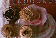 Whole Foods comfort cupcakes.