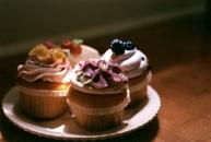 Sunshine on my cupcakes.