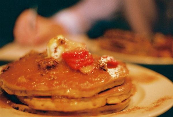 Pumpkin Pancakes, Sabrina's.