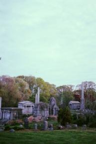 The ruins of Mt. Moriah mini-acropolis.