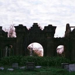 Mausoleum Mansion? Mt. Moriah, Philadelphia.