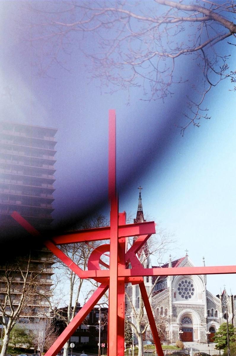 Iroquois. Mark di Suvero, 1983-1999.