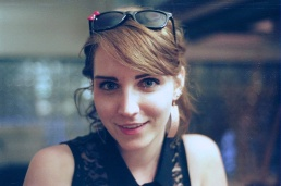 Betty Breznay, photo by Brian Wetzel. Earrings by Melinda Williams.