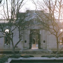 The Rodin facade bu Paul Cret, 1929.