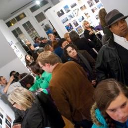 Gallery Throngs.