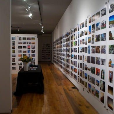 A gallery far from empty.