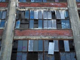 Abandoned on Ruth Street.