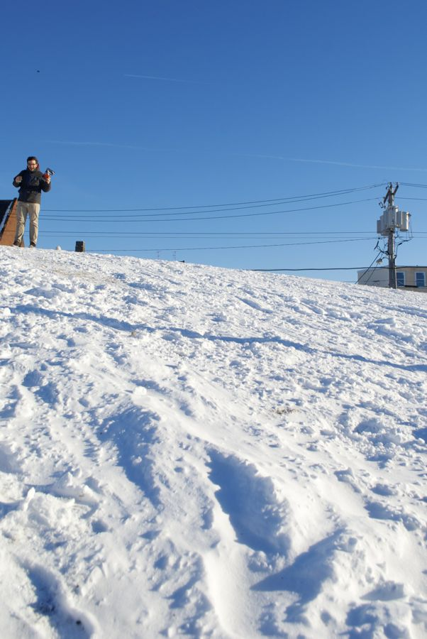 Andy Smith, king of the Wawa Snow Mountain.