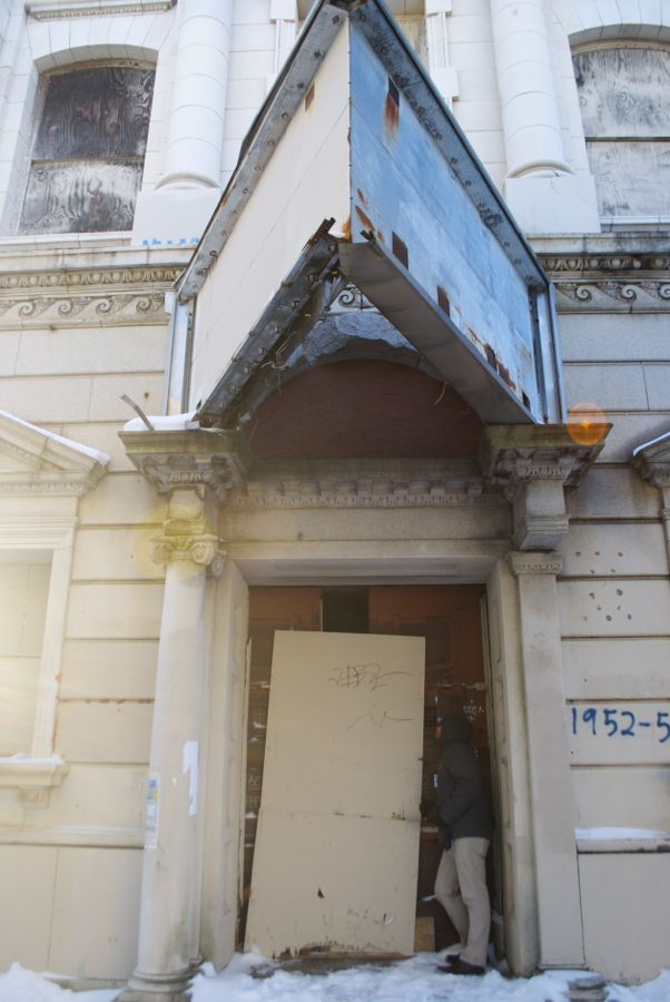 Ninth National Bank, Front Street, Philadelphia.