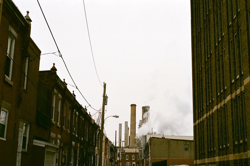 Urban exploration: follow the steam.
