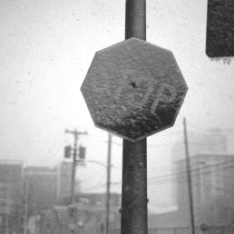 Stop snowing. Please.
