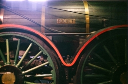 Rocket, Train Factory, Franklin Institute.