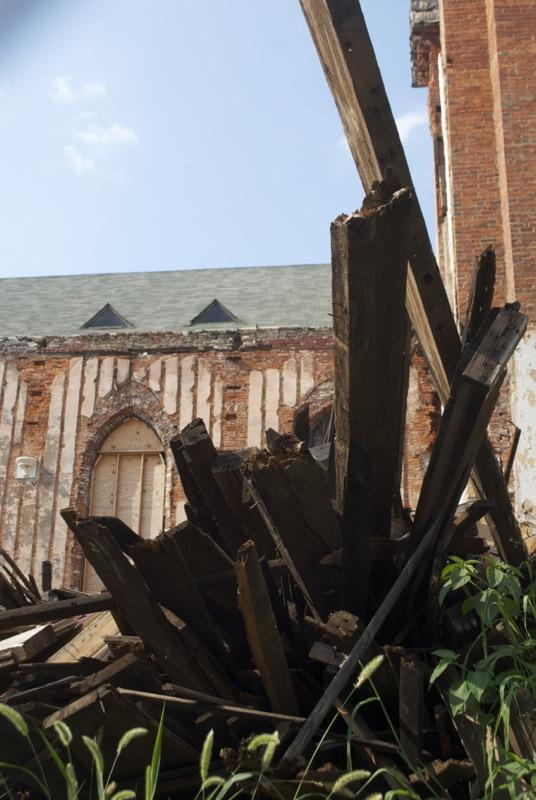 Chopped church.