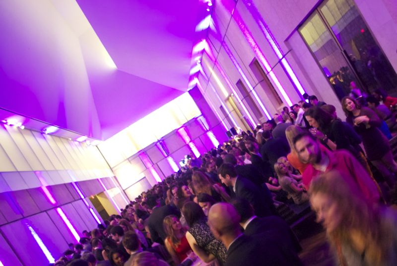 Global Glam! Young Professionals Fright Night at the Barnes Foundation, January 31, 2014.