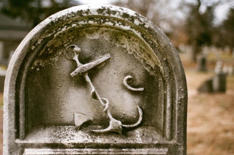 A sailor's grave.