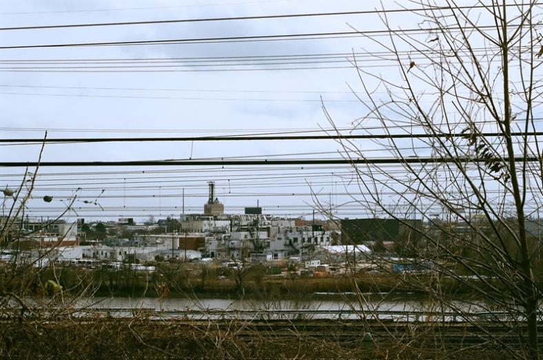 South Philadelphia as seen from West Philadelphia across the Schuylkill.