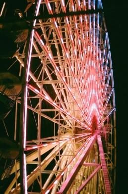 The ferris wheel at the Ocean City boardwalk, New Jersey.