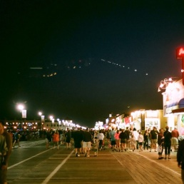 The Boardwalk, Ocean City, New Jersey.