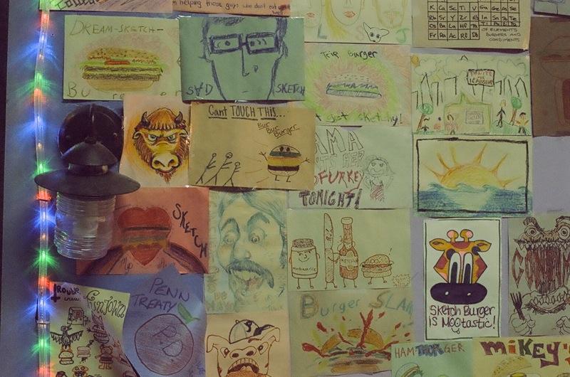 Sketch Burger, Girard Ave.