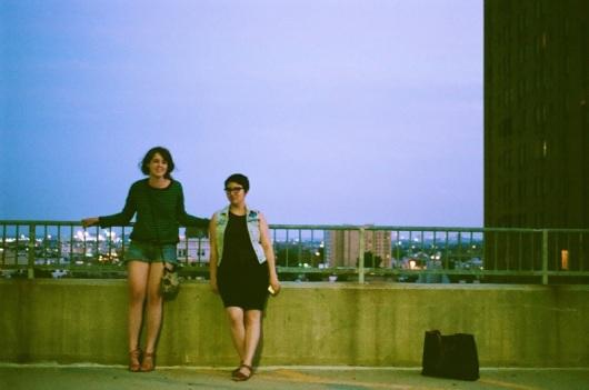 My friends, Maryn & Melissa.