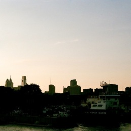 Center City, as seen from Land Buoy.