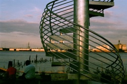Land Buoy by Jody Pinto, Pier 53 Park.