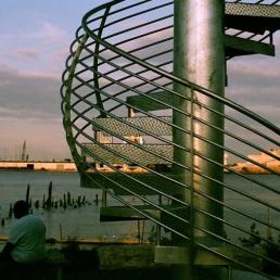 Land Buoy by Jody Pinto, Pier 53 Park.