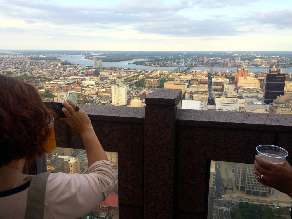 Kat's first experience on the 51st floor.