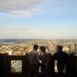 The perfect day for happy hour with a purpose at Top of the Tower.