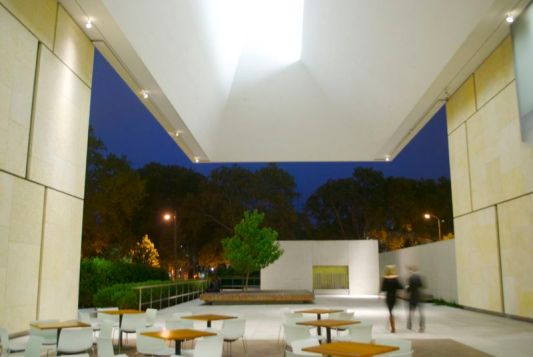 The West Terrace of the Barnes Foundation.