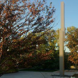 Ellsworth Kelly's Barnes totem in a new light.
