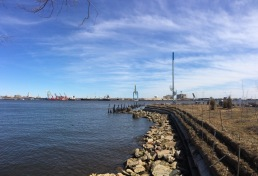 The pier is looking good on this spring day!