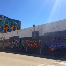 Fish town's latest mural.