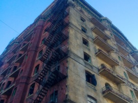 Two faced, The Divine Lorraine.