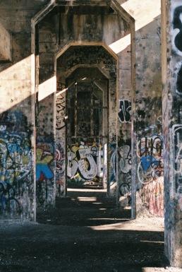 Graffiti Pier, North Philadelphia.
