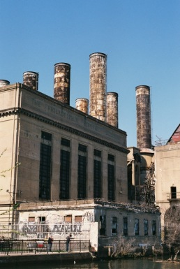 Former PECo power plant.