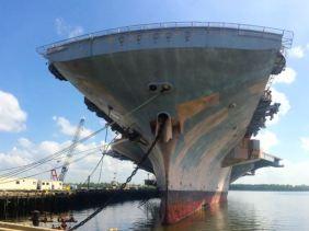 USS John F. Kennedy CV-67.