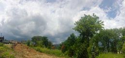 Gray skies over Skiro's in Buttonwood.